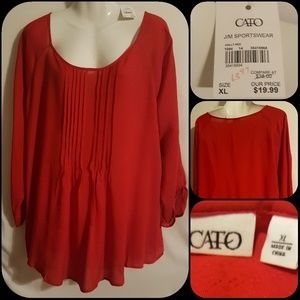 *NWT* Red Blouse